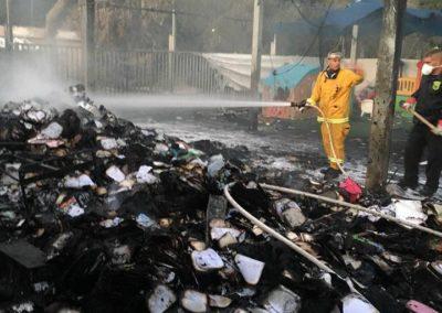 Burned siddurim Israel