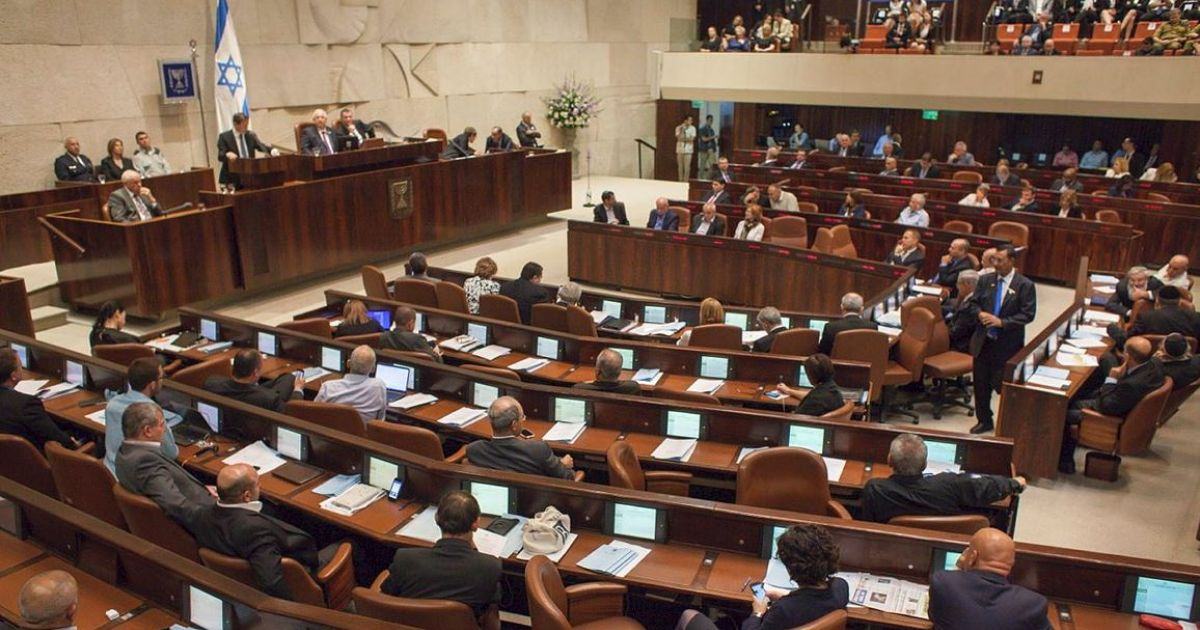 Jewish Pluralsim Watch Knesset Issrael