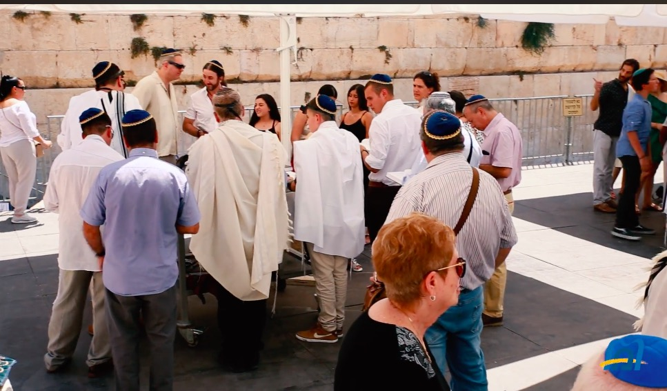 """Lyrical  """"Combination"""" Piyutim For the High Holidays from the Masorti Movement in Israel"""
