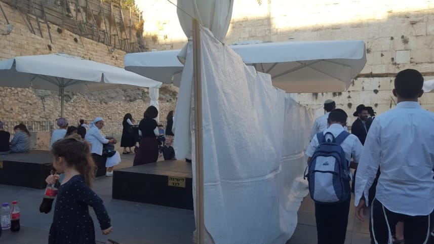 Hooliganism at the Kotel