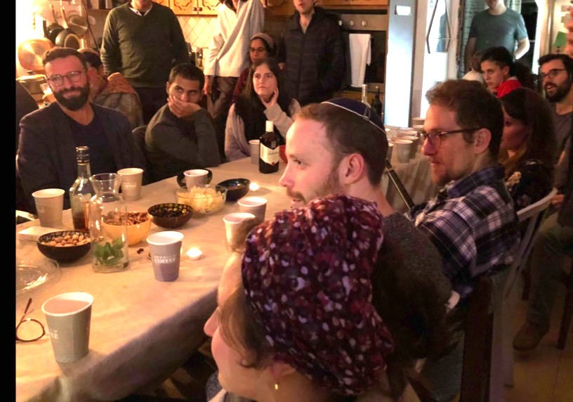 Celebrating Hasidic Rosh Hashana with a Masorti Community