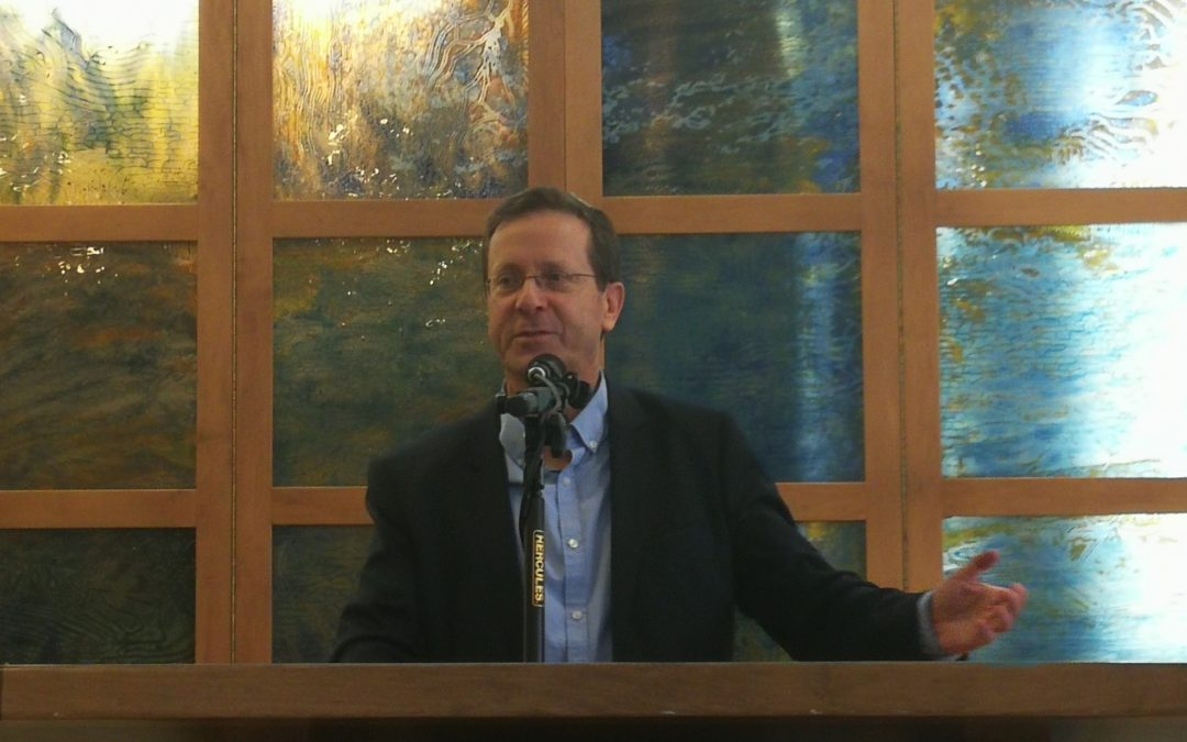 "Head of Jewish Agency, Isaac ""Bougie"" Herzog to Address Masorti Movement's General Meeting"