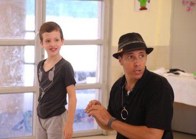 Dad and Kid Masorti Israel