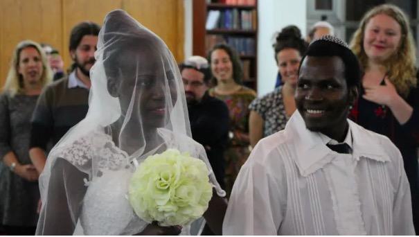 Simcha: Abayudaya Couple's Masorti Wedding in Israel