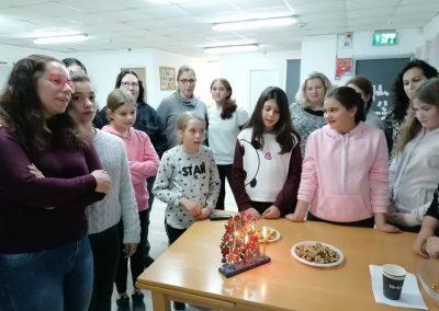 Girls Lighting Chanukah Masorti Israel