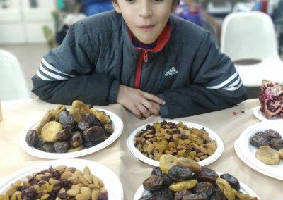 Kid and food masorti