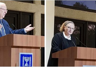 Reuven Rivlin and R.Lastreger