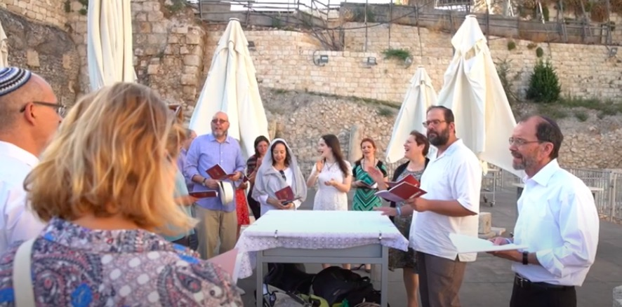Rabbi Carl Perkins' Impassioned Rosh Hashanah Plea for Masorti Israel